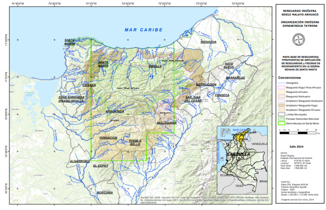 mapa Figuras de Ordenamiento
